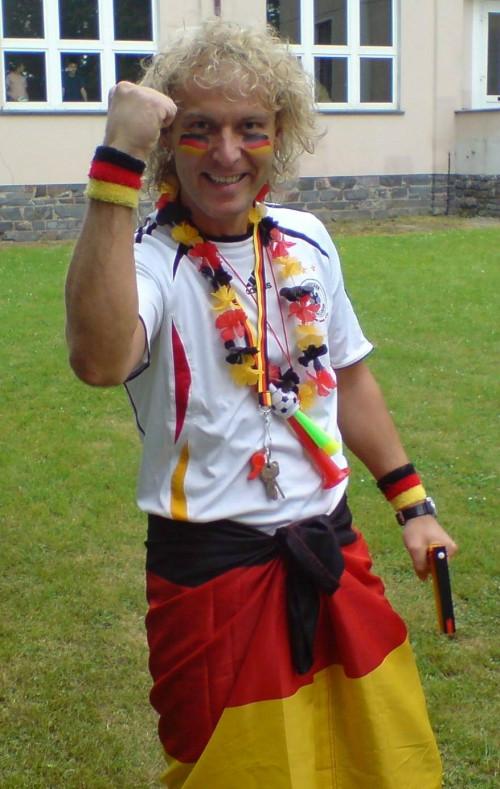 Das war noch zur vuvuzelafreien Fussballzeit...