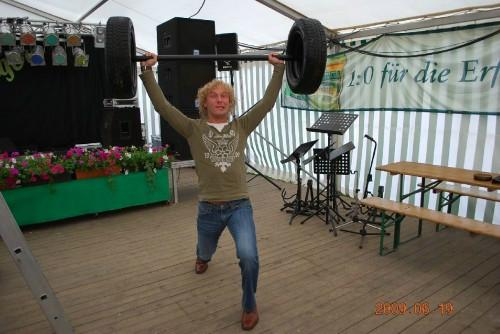 486 kg...Bierzeltrekord! :)