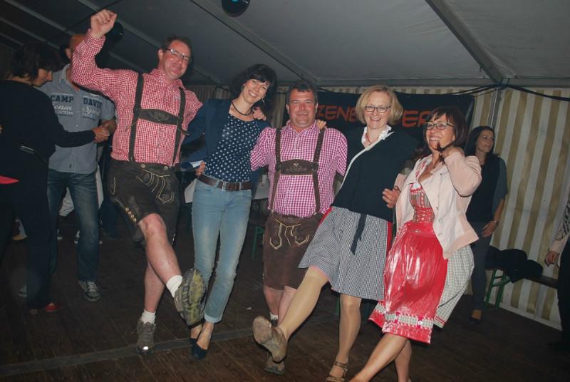 Wieder einmal in Frauendorf...kleines Dorf, kleines Zelt aber große Stimmung!