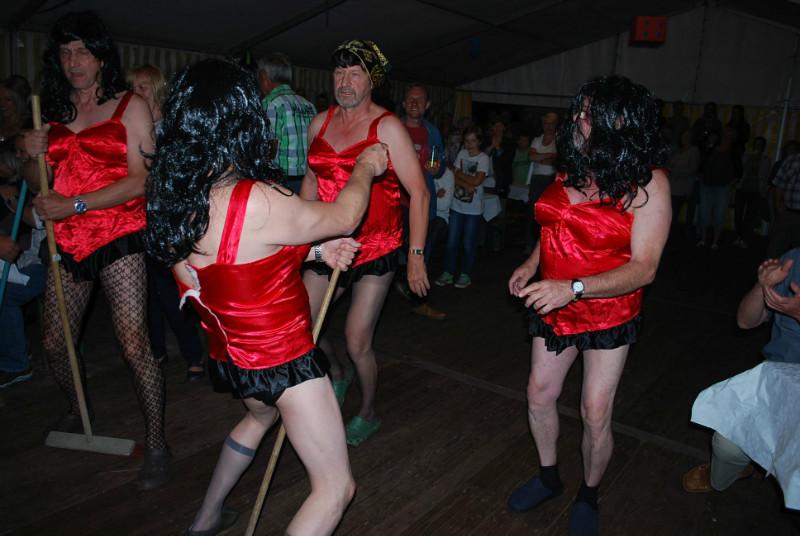 Das fesche Männerballett aus Frauendorf! :)