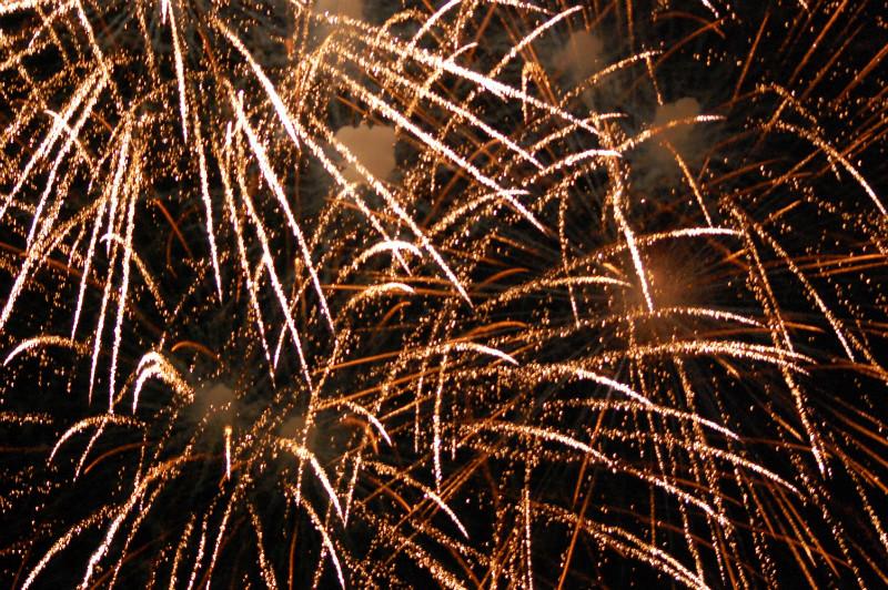 Ein tolles Feuerwerk gabs auch!