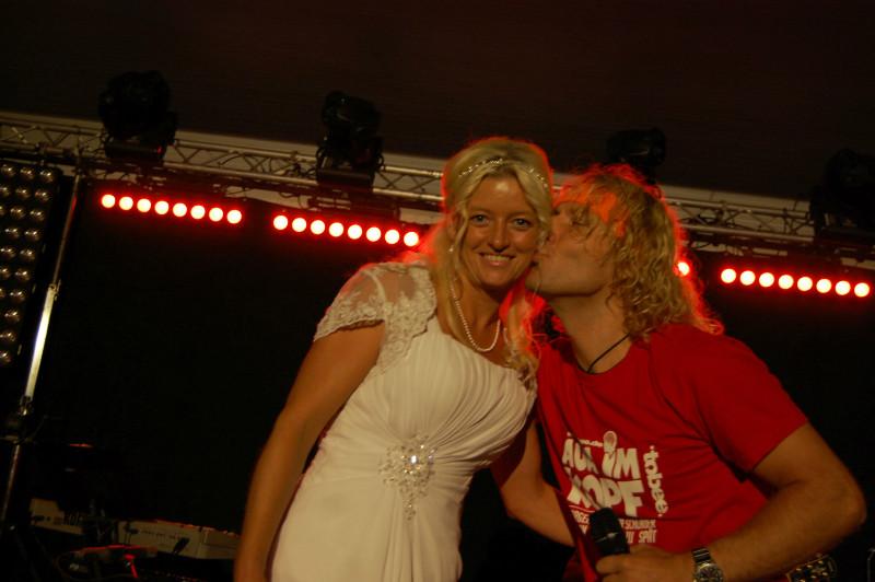 Nicole hat sich getraut...dafür Küsschen vom Prinzn! :)