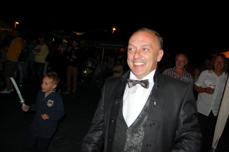 Der Bräutigam... DJ Seppl Marco :)...ich denke, das Auslösen war nicht billig! ;) Wir freuen uns schon aufs Oktoberfest im Glashaus... ;)