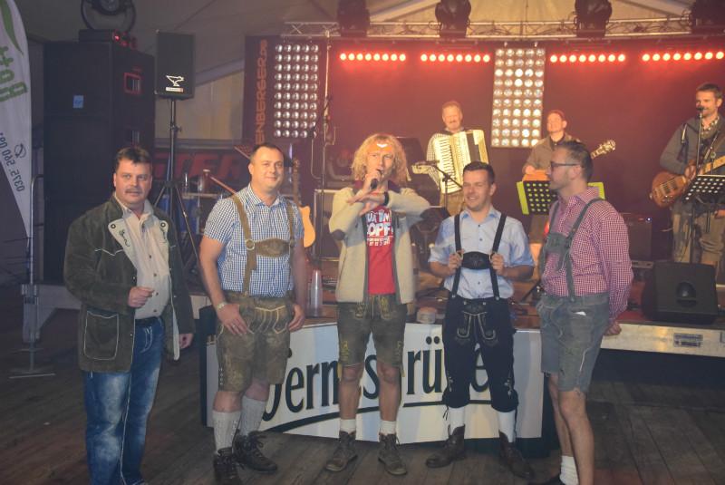 Freibier für alle...ausgegeben von der Wernesgrüner Brauerei! :)