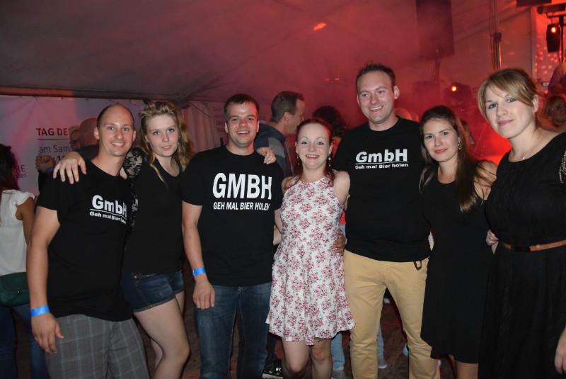 ...der GmBh Fanclub war auch wieder mit am Start! :)